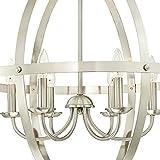 Westinghouse Lighting 6328300 Stella Mira Six-Light Indoor Chandelier, Brushed Nickel Finish, 6