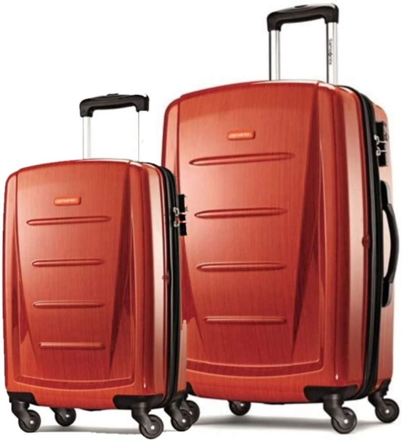 Samsonite Winfield 2 Hardside Expandable Luggage with Spinner Wheels Brushed Anthracite