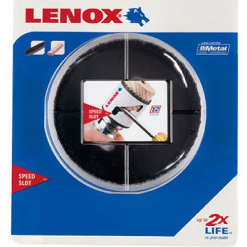 (LENOX Tools Bi-Metal Speed Slot Hole Saw with T3 Technology, 2-3/4