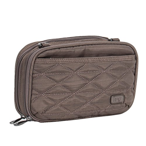 Lug Women's Roundabout Wallet, Brushed Walnut (Lug Purses Handbags)