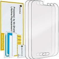 Mr Shield para Samsung Galaxy J1 Ace Premium Protector de pantalla transparente [3-PACK] con garantía de por vida de reemplazo