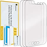galaxy ace screen replacement - Mr Shield For Samsung Galaxy J1 Ace Premium Clear Screen Protector [3-PACK] with Lifetime Replacement Warranty