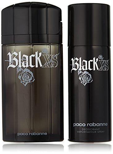(Paco Rabanne Black XS Fragrance Set, 2 Count)