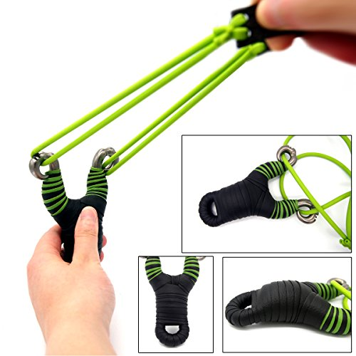 304-Stainless-Steel-Slingshot-Hunting-Catapult-with-Rubber-Bands-and-Premium-Grip-for-Outdoor-Sports