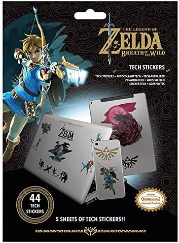 The Legend Of Zelda Botw - Tech Stickers Power: Amazon.es: Juguetes y juegos
