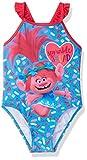 Dreamwave Toddler Girls' Trolls Swimsuit