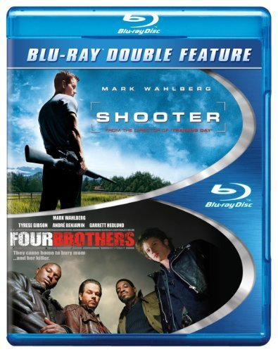 Shooter / Four Brothers (BD) (DBFE) [Blu-ray] by Paramount Catalog
