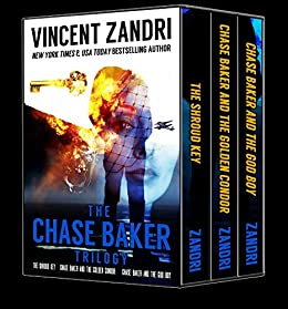 This 3-in-1 BOXED SET ALERT offers a great deal on a trilogy of romantic, thrilling, and action-packed mysteries!  The Chase Baker Trilogy by Vincent Zandri