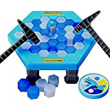 SuperLi Puzzle table games penguin ice pounding penguin ice cubes save penguin knock ice block wall toys desktop paternity interactive game