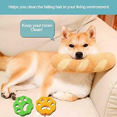 TOPOFU Quitapelos para Mascotas, Cepillo de Limpieza para el ...