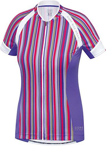 (GORE BIKE WEAR Women's Power Special Edition Jersey, Jazzy Pink/Speed Blue, Large)