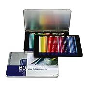 ヴァンゴッホ色鉛筆60色セセット(メタルケース入り)