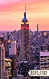 2020-2021 Monthly Pocket Planner: Two-Year Monthly Pocket Planner with Phone Book, Password Log and Notebook. Pretty 24 Months Agenda, Calendar and ... New York City Midtown, Empire State Building
