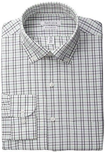 Van Heusen Men's Regular Fit Multi Check