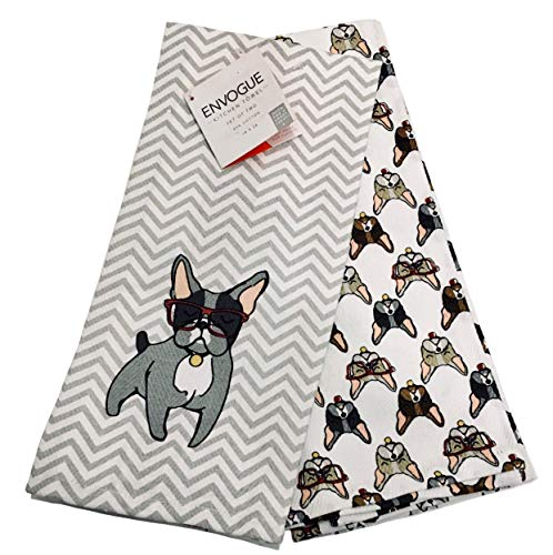 french bulldog kitchen towel - 9