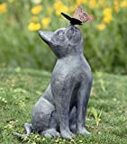 Best GENERIC Friends Statues - Curiosity Cat & Butterfly Friend Garden Sculpture Metal Review