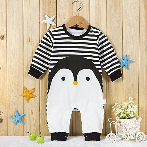 Olyha Baby Romper Newborn Baby Boys Girls Clothing Toddler One-Piece Jumpsuit Stripe Animal For Sleep,Playing