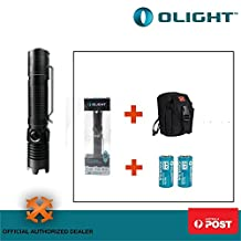 OLIGHT M1X Striker Flashlight 1000Lumens Cree LED Double Switch Tail w/Batteries
