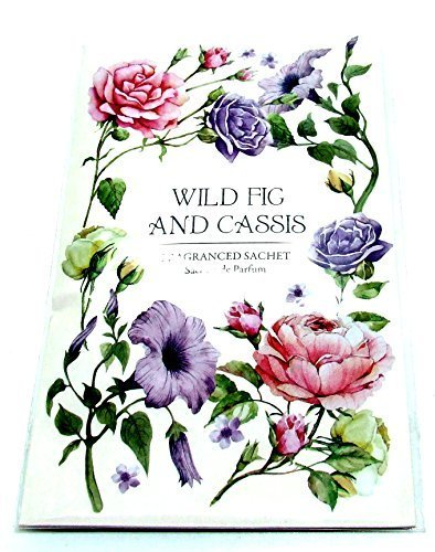Other Scented Wardrobe Hanger Double Scented Sachet In Wild Fig & Cassis