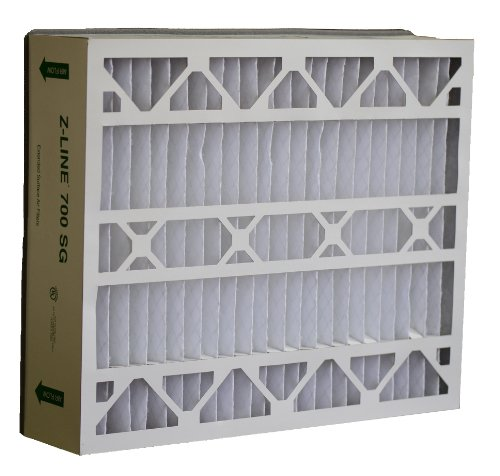 Price comparison product image Glasfloss Industries SGP20256M132PK Z-Line Series 700 SG MERV 13 Air Cleaner Replacement Filter Option,  2-Case