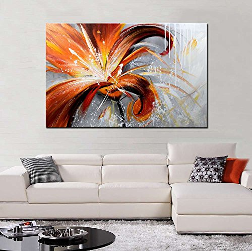 ARTLAND 24x36-inch 'Fall Story' Gallery-wrapped Hand-painted