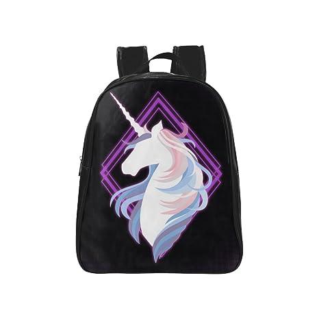 Amazon.com: Elegante Unicornio de fondo Púrpura Diseño de ...
