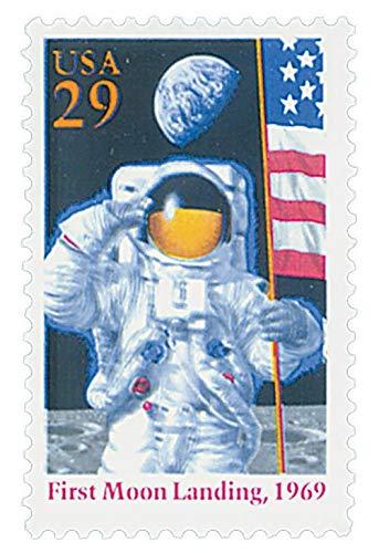 US 1994 Moon Landing Anniversary Postage Stamp, SN 2841a