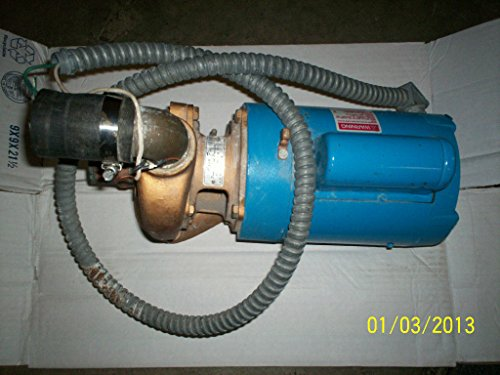 Duty Spa (GOULD POOL PUMP MOTOR 1 HP 8-164299-20 1 ph 1081 DUTY L56C CX AQUA FLO SPA)