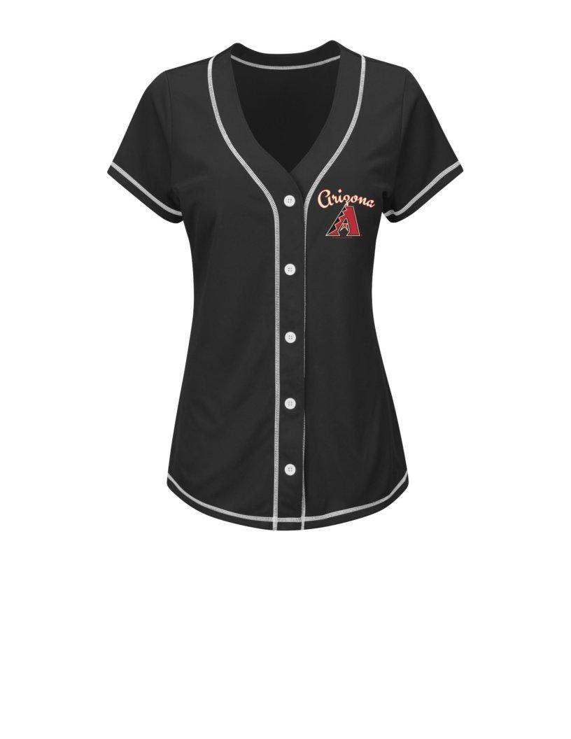 【5%OFF】 MLBポールゴールドシュミットWomen 's 44 's Mファッショントップス 44 Large B01ALNG8OC ブラック/ホワイト B01ALNG8OC, fu-chi インテリアふうち:f686e02f --- a0267596.xsph.ru