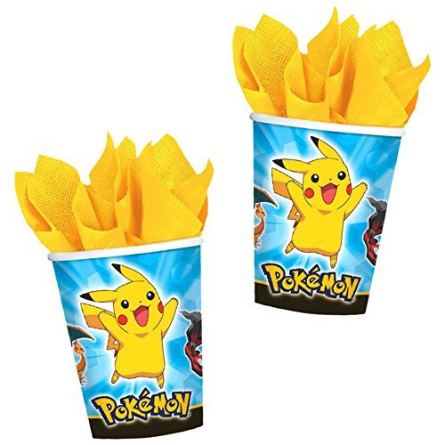 Pikachu and Friends Cup 9oz 8ct [6 Retail Unit(s) Pack] - 581844