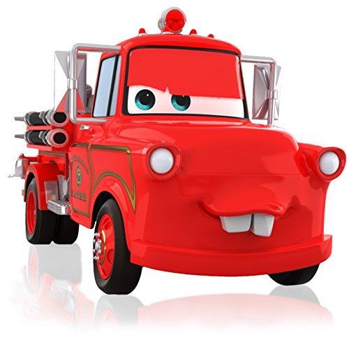 Hallmark Keepsake Ornament: Disney/Pixar Cars Mater to the Rescue! Fire - Fire Engine Ornament