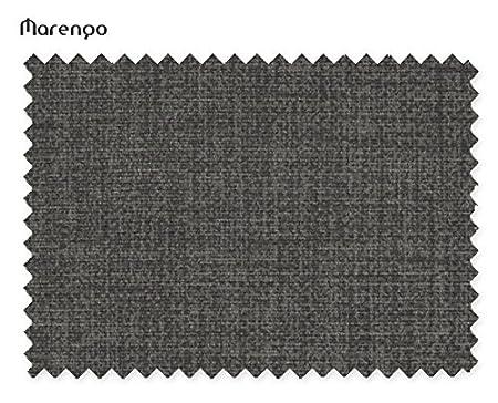 Komfortland Sofá Cama de Tela Black Night (Gris Oscuro)