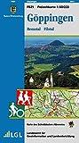 Göppingen, Remstal Filstal: Karte des Schwäbischen Albvereins (Freizeitkarten 1:50000/Mit Touristischen Informationen, Wander- und Radwanderungen)
