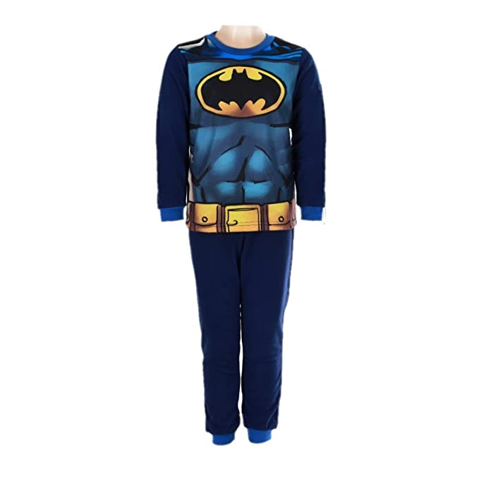 Batman,DC Comics,Superman - Pijama dos piezas - para niño Negro negro 12