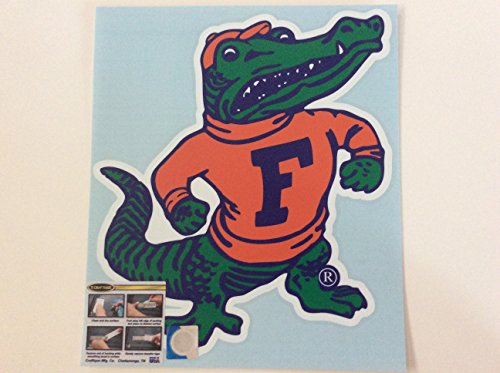 UF, FLORIDA GATORS, XL Premium Gator Decal, CORNHOLE, Auto, Made in The USA