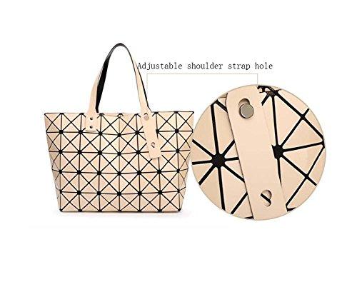 à sac main réglable Messenger sacs bandoulière sac loisirs travail sac sacs Shopping à géométrique bandoulière Femmes pour Noir dames les Top poignée à 87EqwF