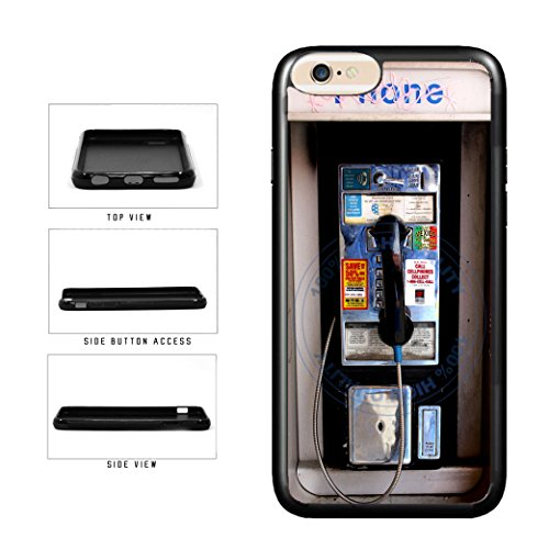 (BleuReign(TM) Old School Payphone TPU RUBBER SILICONE Phone Case Back Cover For Apple iPhone 8 Plus and iPhone 7)