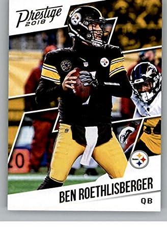 df6746f84b2 2018 Prestige NFL  192 Ben Roethlisberger Pittsburgh Steelers Panini Football  Card