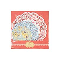 Talking Tables Tea Party Floral Paper Doilies | Truly Scrumptious | Assorted Sizes, 24 Pack - TS4-DOILY