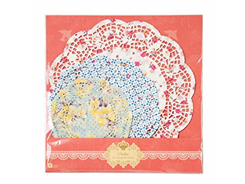 Talking Tables Tea Party Floral Paper Doilies | Truly Scrumptious covid 19 (Colored Paper Doilies coronavirus)