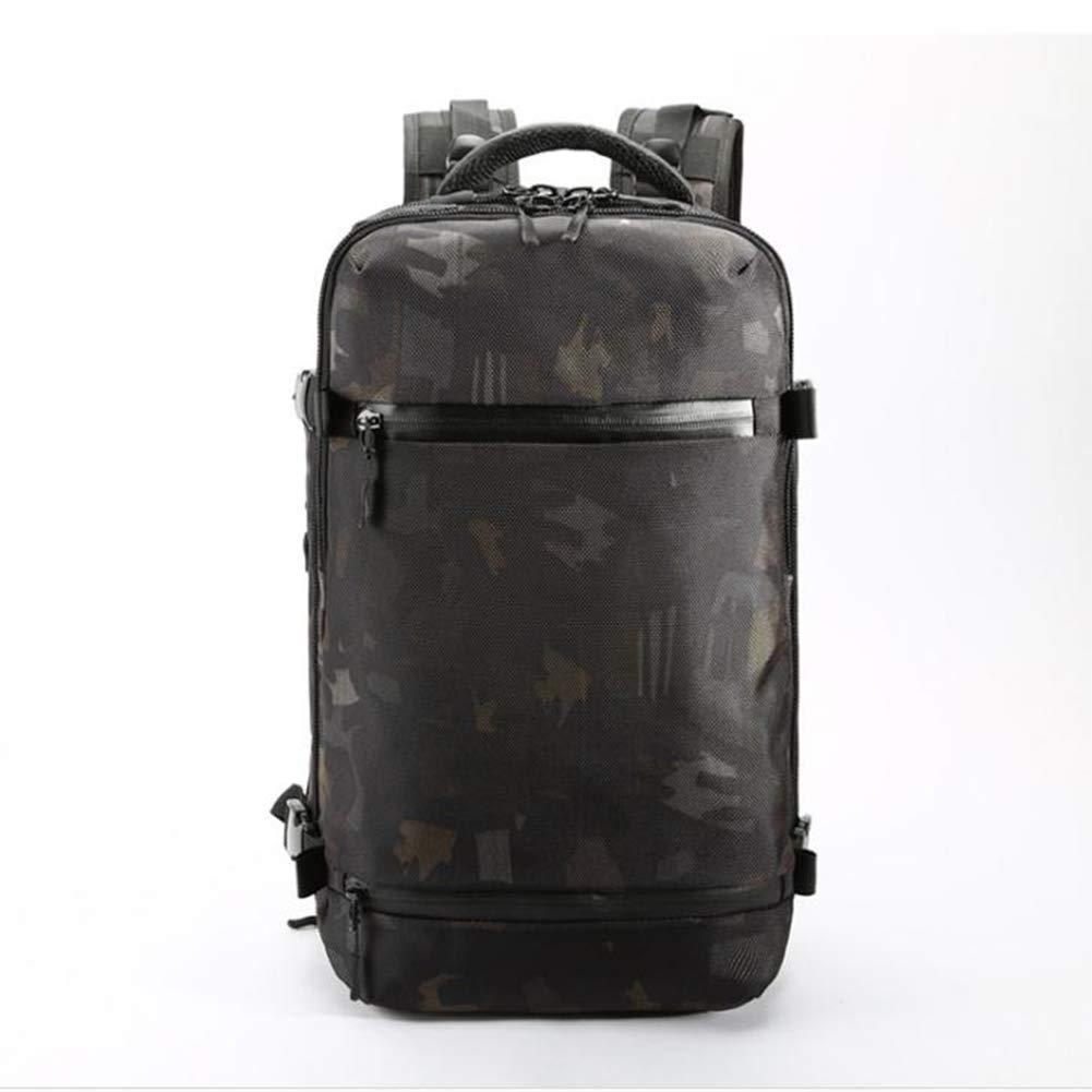CamouflageCouleur 20nopockets Oxford sac à dos en tissu sac à dos multifonctions USB voyage en plein air sac à dos grande capacité grand sac étanche hommes