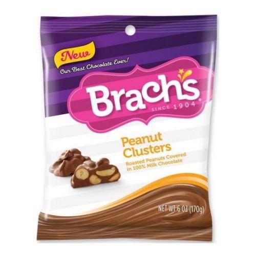 Brach's Peanut Clusters 6 oz (Pack of 12)