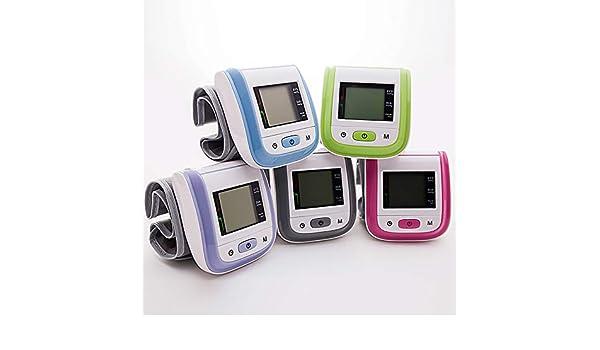 Wysgvazgv Tensiómetro de Muñeca, Electrónico Tensiómetro Digital de Muñeca Totalmente Automático Alta Precisión Presión Arterial y Detección de Pulso ...