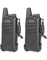 Handheld Radio F20 22 Channel Headset Earpiece VOX Hands-Free (2Pack)