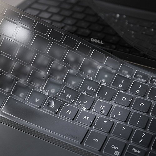 Leze - Ultra Thin Soft Keyboard Protector Skin Cover for 13.3 Dell XPS 13 9365 Laptop US Layout - TPU