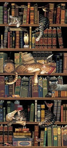 Charles Wysocki - Classic Tails -  Print Poster  (Overall Size: 18.5x35.5)  (Image Size: 14x31)