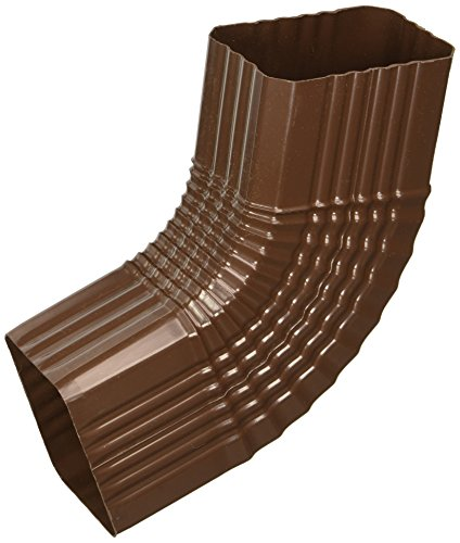Downspout Elbow B 3x4in Brown by Manufacturers Direct