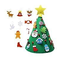 Décorations de Noël en feutre bricolage 3D décorations en forme de poupée du Nouvel An cadeaux Accessoires