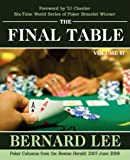 The Final Table, Bernard Lee, 1440112657