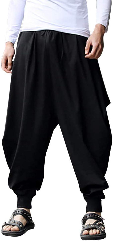 Talla Grande Pantalones Cortos con Bolsillos Pantalones Bombachos ...